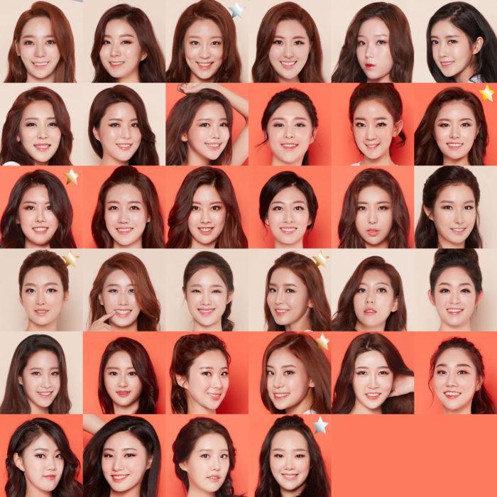 韓国整形同じ顔